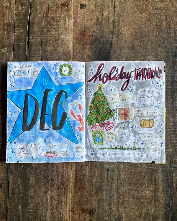 Currently December 2020- -Currently Workbook by Tracy Benjamin of Shutterbean.com
