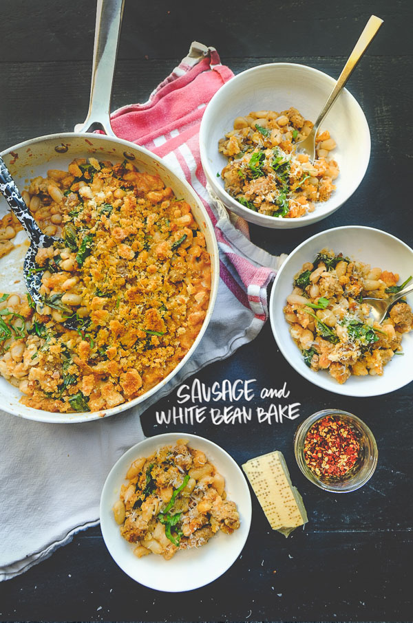 Sausage and White Bean Bake