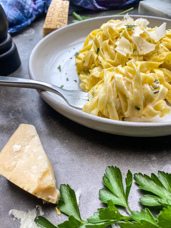 Fettucine with Truffle Butter
