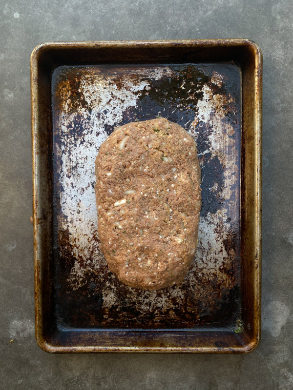 Meatless Meatloaf with Beyond Beef