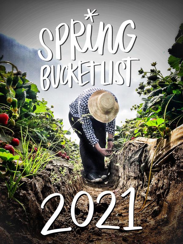 Spring Bucket List 2021