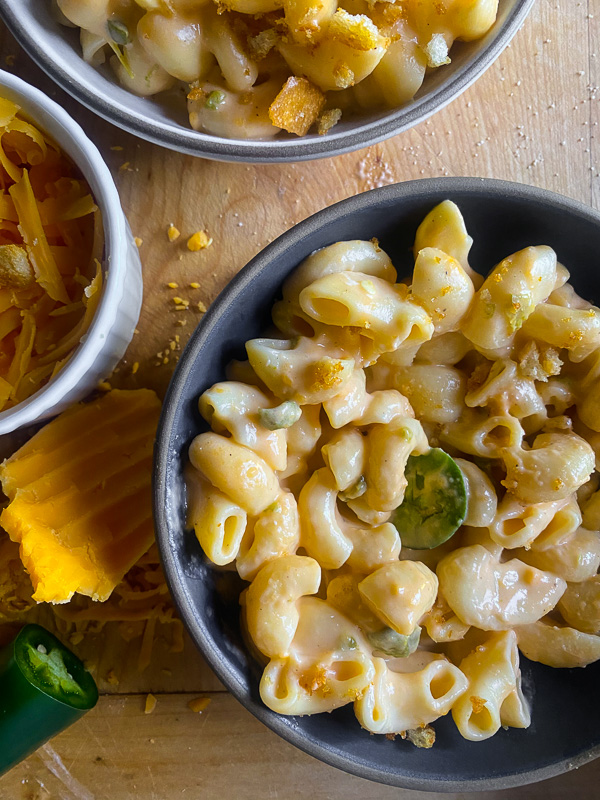 Instant Pot Jalapeno Mac & Cheese
