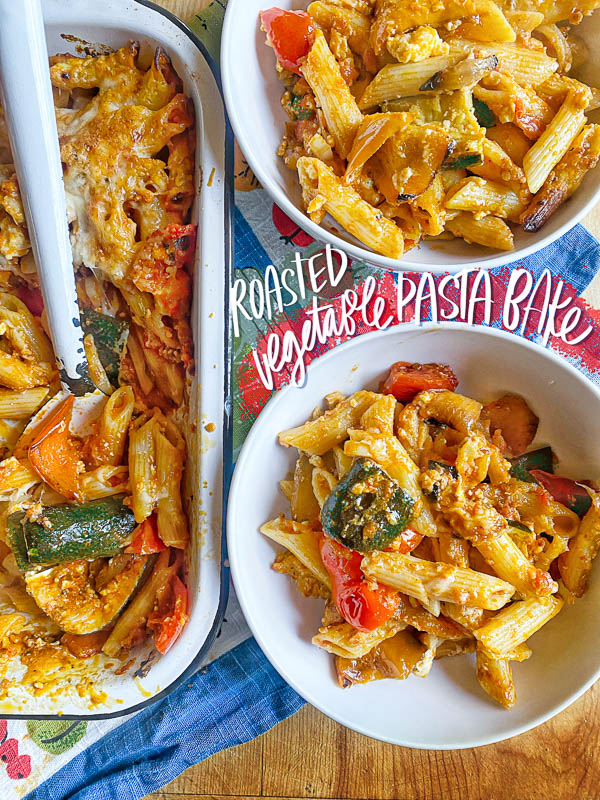 Roasted Vegetable Baked Penne