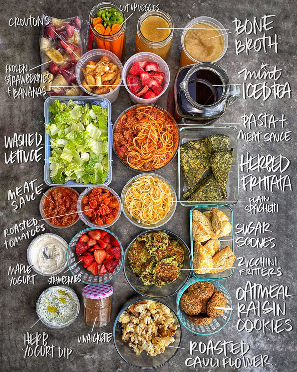 Shutterbean Meal Prep- by Tracy Benjamin of Shutterbean.com