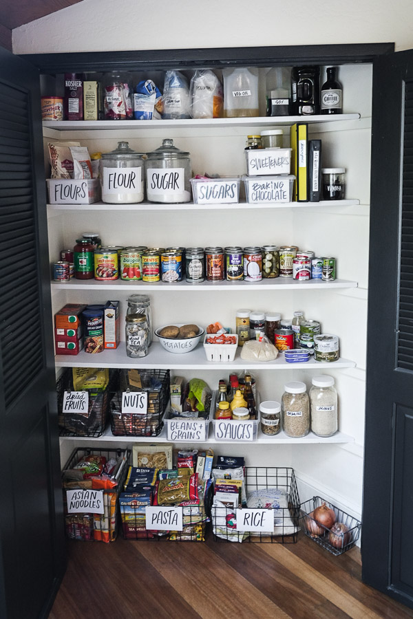 Pantry Clean Out - by Tracy Benjamin of Shutterbean.com