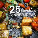 25 Vegetarian Dinner Ideas - find inspiration from Shutterbean.com