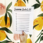 Summer Bucket List 2021- from shutterbean.com with printable!