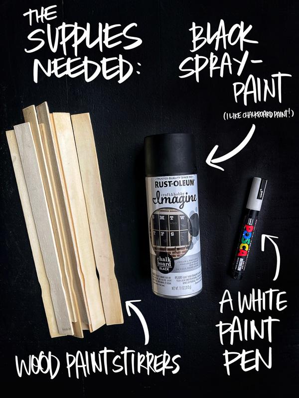 DIY Plant Markers - Shutterbean.com