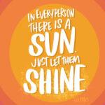 Sunshine!! I love lists artwork by Tracy Benjamin of Shutterbean.com