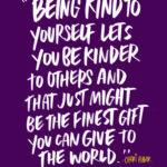Be kind to yourself! I love lists // shutterbean