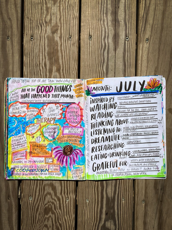Currently July 2021- -Currently Workbook by Tracy Benjamin of Shutterbean.com