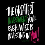 Invest in YOU! I love lists artwork by Tracy Benjamin- Shutterbean.com