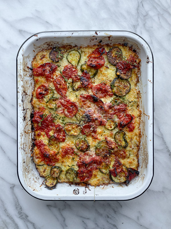 Zucchini Rice Gratin- Shutterbean.com