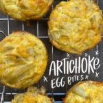 Artichoke Egg Bites from Shutterbean.com
