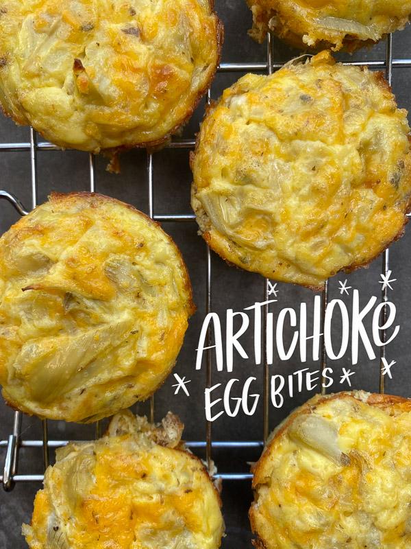 Artichoke Egg Bites