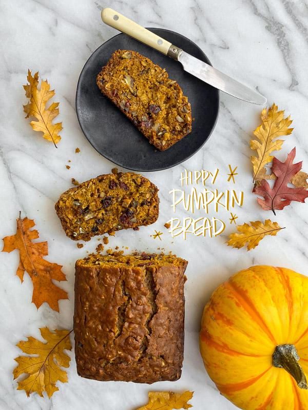 Hippy Pumpkin Bread